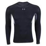 Under Armour HeatGear Coolswitch Compression LS T-Shirt (Black)