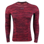 Under Armour HeatGear Coolswitch Compression LS T-Shirt (Red)