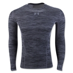 Under Armour HeatGear Coolswitch Compression LS T-Shirt (Gray)
