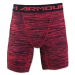 Under Armour HeatGear Coolswitch Compression Short (Red)