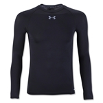 Under Armour Youth HeatGear Armour Fitted Shirt (Black)