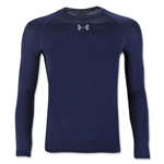 Under Armour Youth HeatGear Armour Fitted Shirt (Navy)