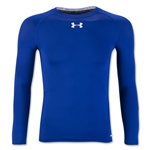 Under Armour Youth HeatGear Armour Fitted Shirt (Royal Blue)