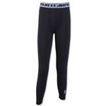 Under Armour Youth HeatGear Armour Fitted Legging (Black)