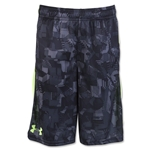 Under Armour Youth Eliminator Printed Short (Gray)