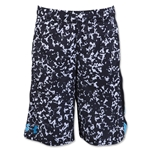 Under Armour Youth Eliminator Printed Short (White)