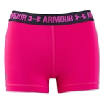 Under Armour Women's HeatGear Armour Compression 3 Solid Shorty (Red)