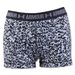 Under Armour HeatGear Armour Compression Berline Blue 3 Shorty (White)