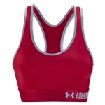 Under Armour Mid Sports Bra (Red)