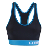 Under Armour Mid 2016 Sports Bra (Black/Sky)