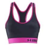 Under Armour Mid 2016 Sports Bra (Gray/Red)