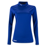Under Armour ColdGear Women's Fitted Mock Top (Royal Blue)