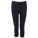 Under Armour HeatGear Armour Women's Capri Pant (Black)