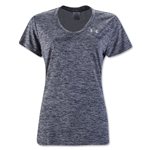 Under Armour Twist Tech Women's V-Neck T-Shirt (Black)