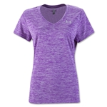 Under Armour Twist Tech Women's V-Neck T-Shirt (Purple)