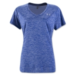 Under Armour Twist Tech V-Neck T-Shirt (Royal Blue)