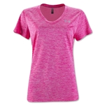 Under Armour Twist Tech Women's V-Neck T-Shirt (Red)