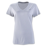 Under Armour Twist Tech V-Neck Women's T-Shirt (Gray)