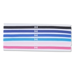 Under Armour Women's Mini Headband 6 pack (Royal Blue)