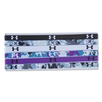 Under Armour Women's Flora Burst Mini Graphic Headband 6 pack