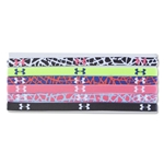 Under Armour Women's City Slash Mini Graphic Headband 6 pack