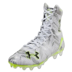 Under Armour LAX Highlight MC Cleat (White/Metallic Silver)
