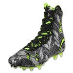 Under Armour LAX Highlight MC Cleat (Black/High-Vis Yellow)
