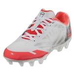 Under Armour Women's Finisher II MC Cleats (White/Neo Pulse)