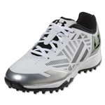Under Armour Women's Finisher II Turf (White/Metallic Silver)