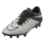 Nike Hypervenom Phinish Leather FG (Light Bone/Black)