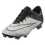 Nike Mercurial Vapor X Leather FG (Light Bone/Black)