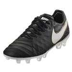 Nike Tiempo Legend VI FG (Black/White)