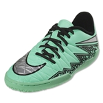 Nike Hypervenom Phelon II IC Junior (Green Glow/Metallic Silver)