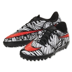 Nike Junior Hypervenom Phelon II NJR TF (Black/Bright Crimson)