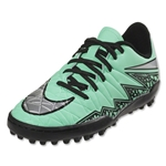 Nike Hypervenom Phelon II TF Junior (Green Glow/Metallic Silver)