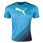 PUMA IT evoTRG Cat Graphic T-Shirt (Blue)
