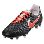 Nike Women's Magista Onda FG (Black/Bright Crimson)