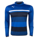 PUMA Veloce Training Sweat Top (Royal Blue)