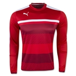 PUMA Veloce Training Sweat Top (Red)