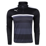 PUMA Veloce 1/4-Zip Training Top (Black)