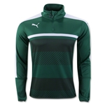 PUMA Veloce 1/4-Zip Training Top (Green)