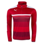 PUMA Veloce 1/4-Zip Training Top (Red)