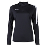Nike US Squad 16 Women's Drill Top (Black)