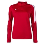 Nike US Squad 16 Women's Drill Top (Red)