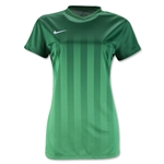 Nike US Women's Striped Division 2 Jersey (Green)