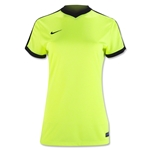 Nike Women's Striker IV Jersey (Neon Yellow)