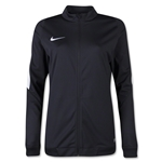 Nike US Women's Squad 16 Knit Track Jacket (Black)