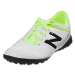 New Balance Visaro Control TF Junior (White/Toxic)