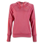 Nike Women's DF Comfort Hoody (Red)