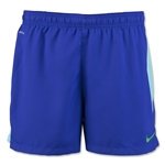 Nike Women's Squad Woven Short 16 (Purple)